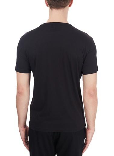 EA7 Emporio Armani  Baskılı Bisiklet Yaka % 100 Pamuk T Shirt Erkek T Shırt 6Hpt51 Pjm9Z 1200 Siyah